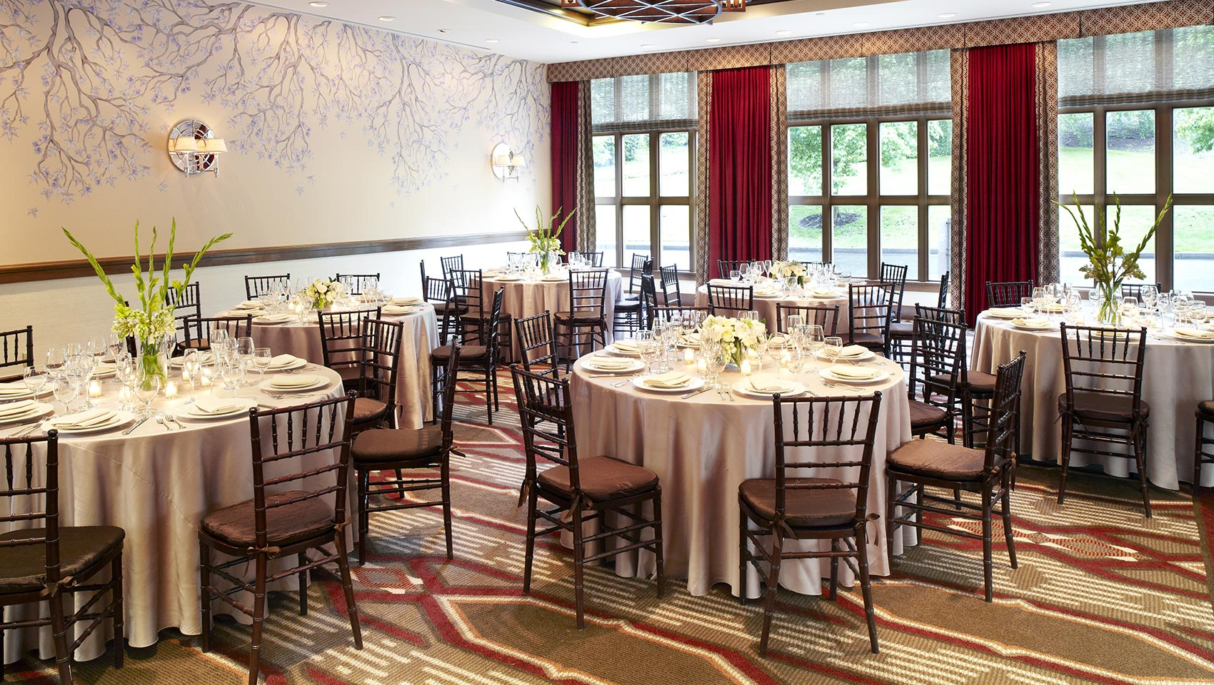 Kimpton RiverPlace wedding reception