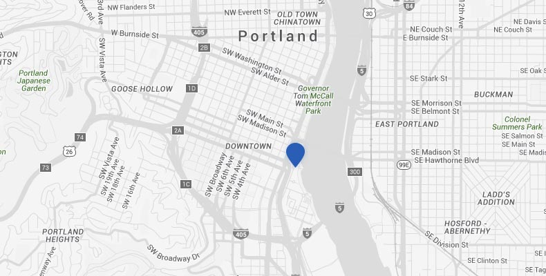 Portland Hotel Map & Directions | Kimpton RiverPlace Hotel