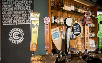 Riverplace beer tap